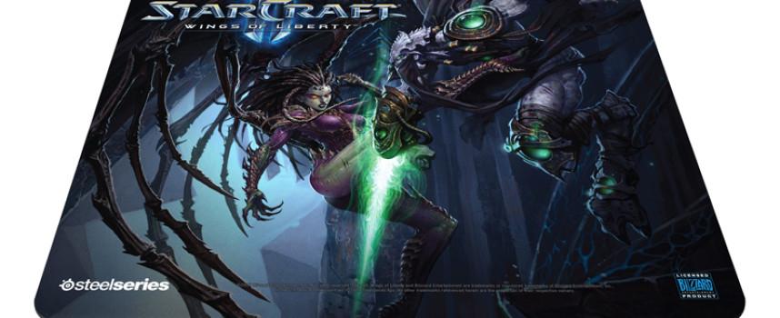 Tapis SteelSeries Qck «Starcraft 2»