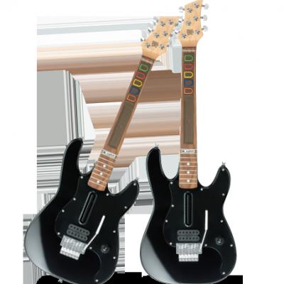 Deux guitares Logitech pour le prix d'une !!