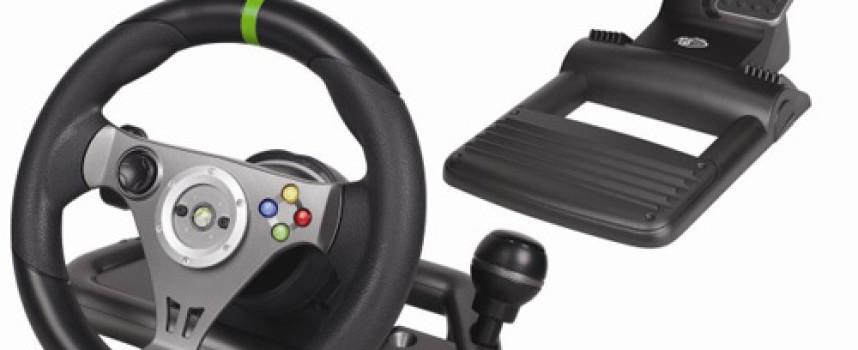 Un volant sans fil pour Xbox 360 par MadCatz
