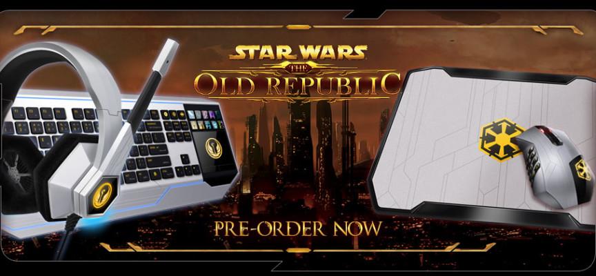 Clavier, casque et souris Razer Star Wars : The Old Républic