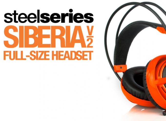 Test SteelSeries Siberia V2 – Casque Stéréo | PS4 / PS3 / Xbox / PC