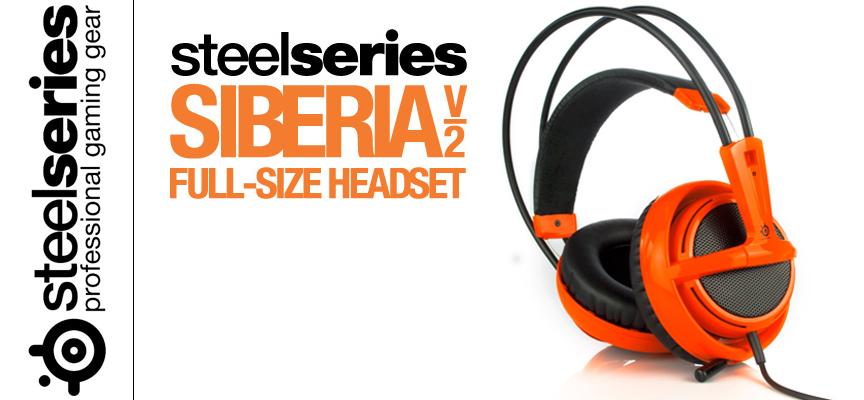 Test SteelSeries Siberia V2 - Casque Stéréo | PS4 / PS3 / Xbox / PC