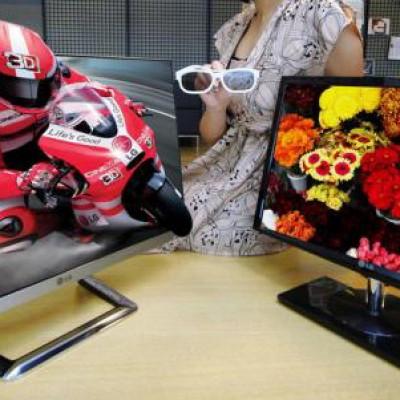 Moniteur 3D LG DM92, idéal pour du multi-écrans
