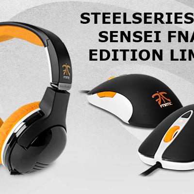 Edition limitée Steelseries caque 7H et souris Sensei pour la team FNATIC