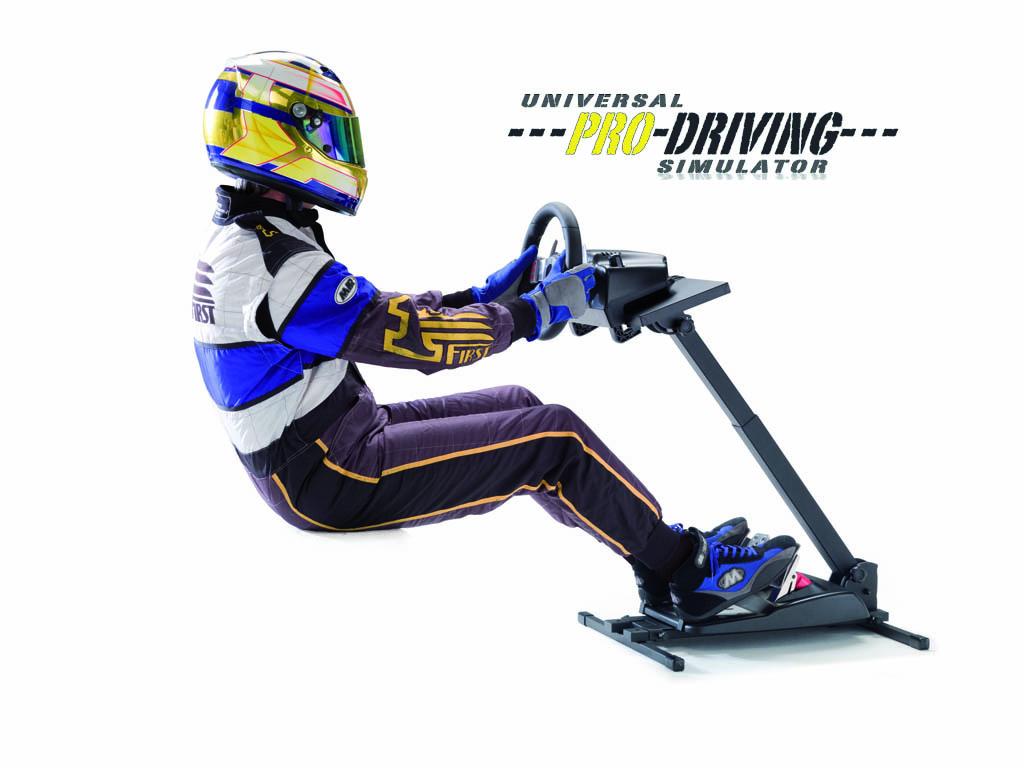 Test Universal Pro Driving Simulator – Support volant