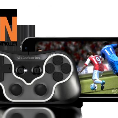SteelSeries annonce le «Ion» un gamepad sans fil pour PC et Mobile