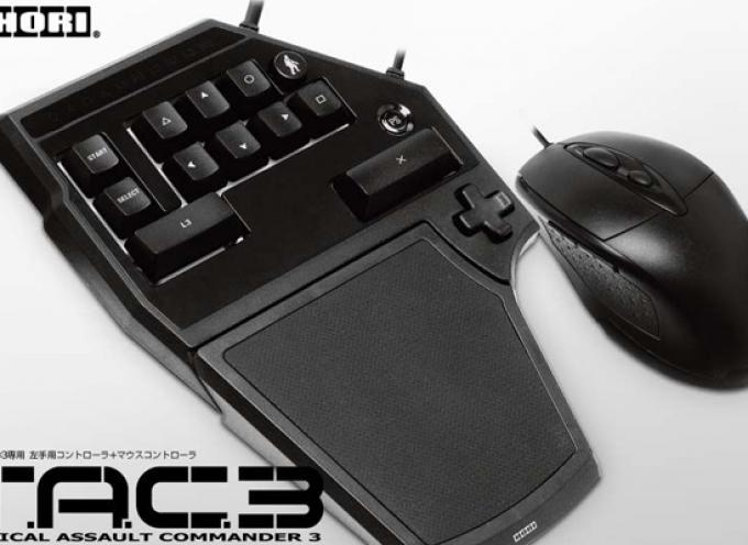 Test Hori Tactical Assault Commander 3 – Combo clavier/souris | PS3