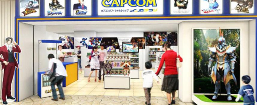 Un magasin Capcom à Tokyo