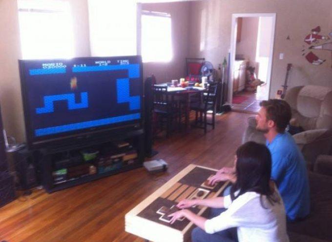 Table basse NES, fonctionelle !