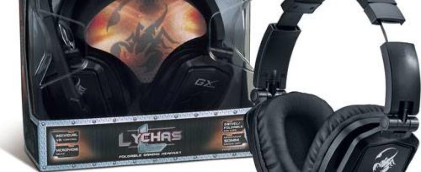 Casque gamer Lychas HS-G550 chez Genius