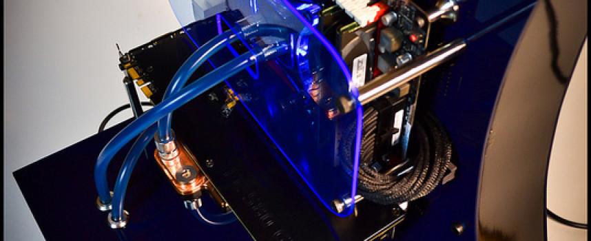 Mod PC «Black N' Blue» par DluXe