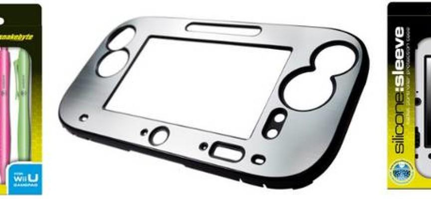 Gamme d'accesoires Snakebyte pour la Nintendo Wii U