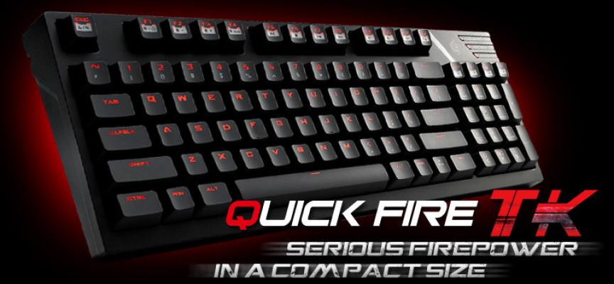 Test CM Storm Quick Fire TK – Clavier mécanique | PC