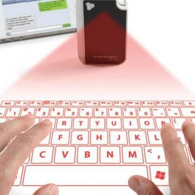 Porte-clés clavier virtuel laser