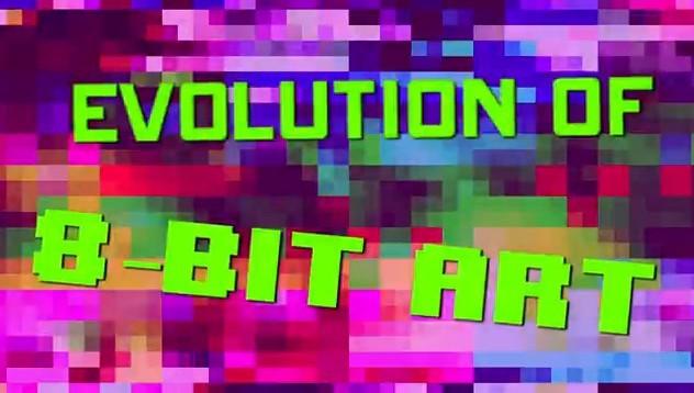 Evolution du 8-bit, quand les jeux vidéos deviennent un art.