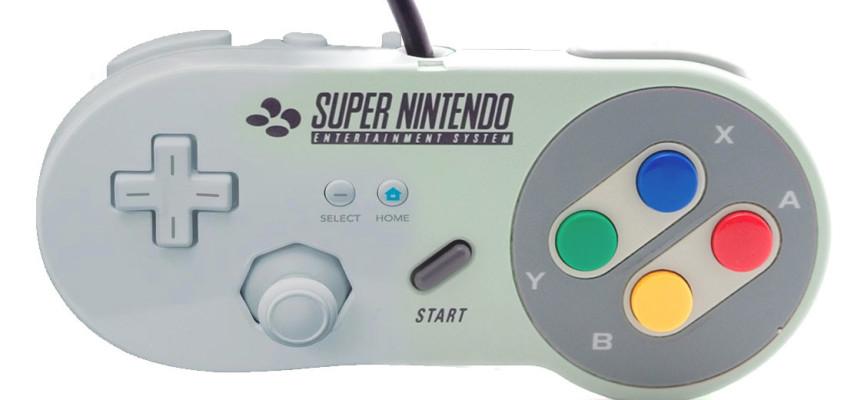 Infographie des contrôleurs et joypad Nintendo