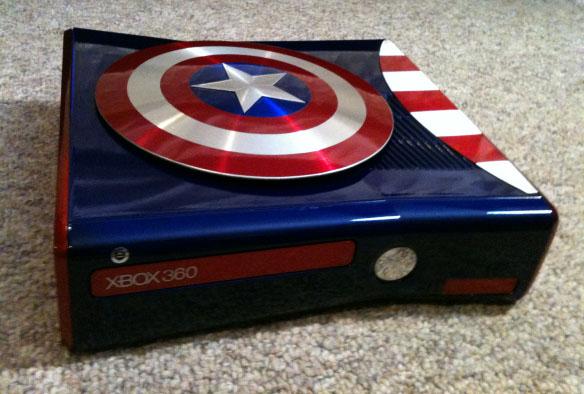 Mod Xbox 360 Captain America