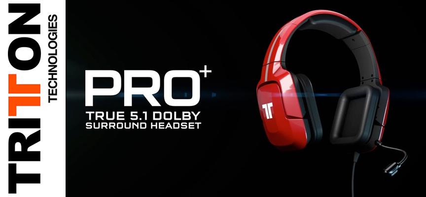 Test Tritton Pro Plus - Casque Surround | Xbox / PS3 / PS4 / PC