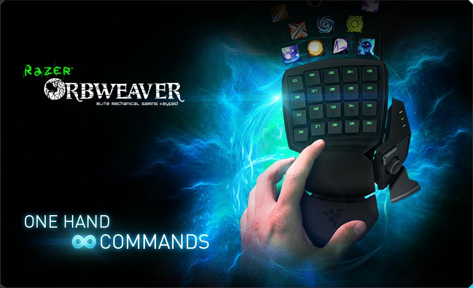 Keypad Razer Orbweaver
