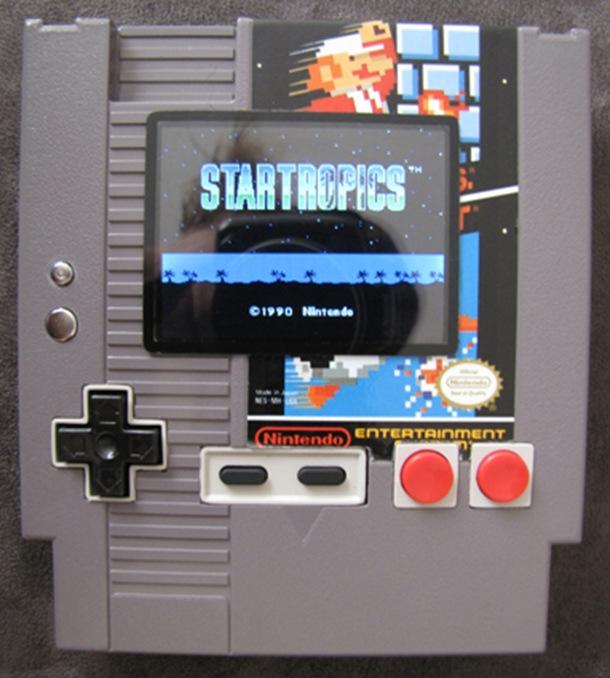 nesP, un MOD console NES portable dans une cartouche NES