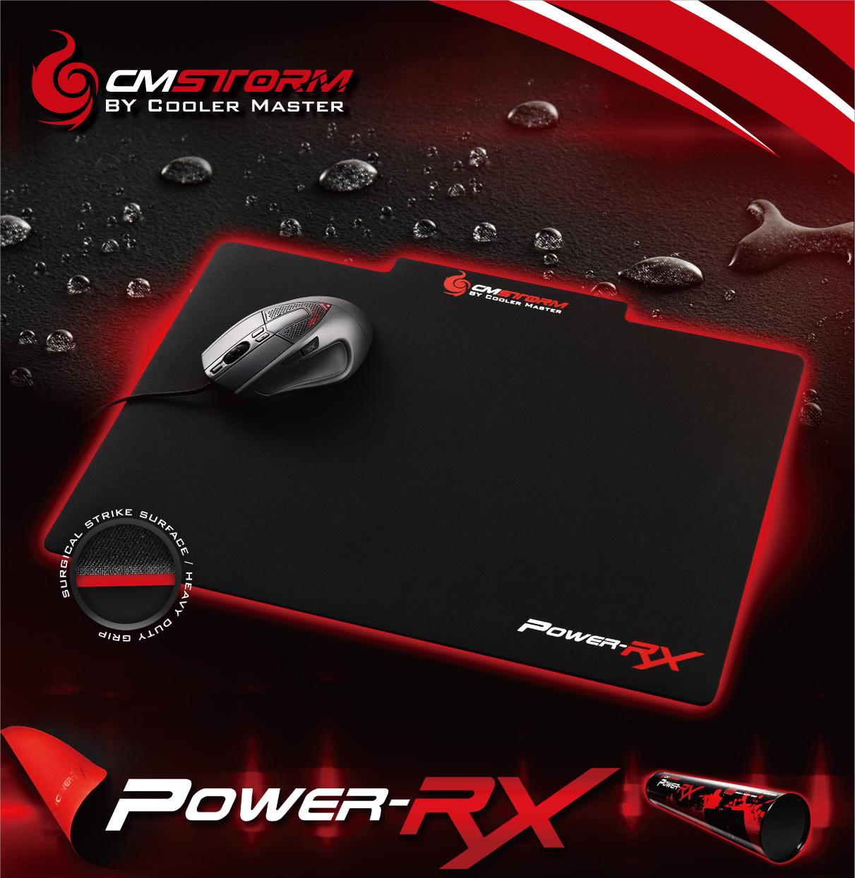 Tapis de souris CM Storm POWER-RX par Cooler Master