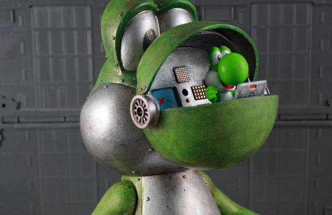 "Art Toy Yoshi par Donald ""KodyKoala"" Kennedy"