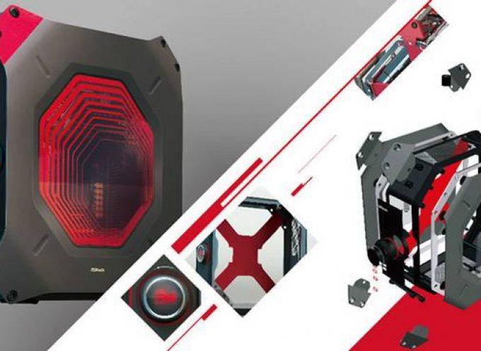 Boîtier gamer ASRock miniPC Vision dessiné par BMW