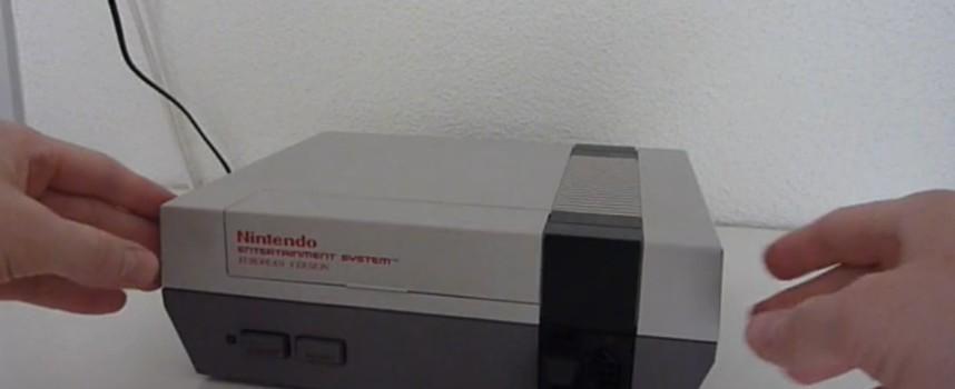 Mod Nintendo NES avec écran intégré