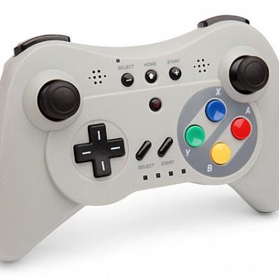 Pro Controller U, un gamepad Wii et Wii U pour le rétrogaming et le mobile