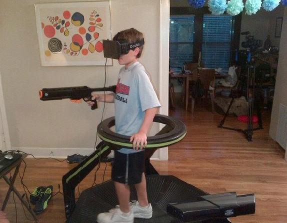 OMNI + Rift = la réalité virtuelle dans son salon