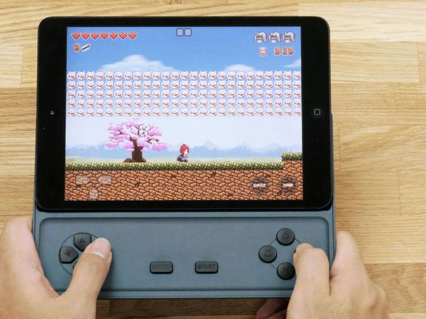 Game D, transformez votre iPad Mini en console de jeux portable
