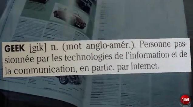 Docu CNET : Le geek, cet idiot du village !