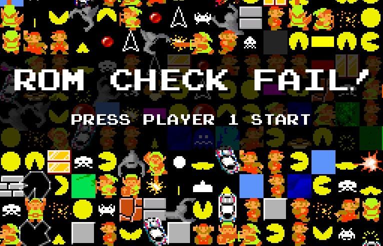 Rom Check Fail !