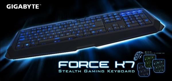 Clavier USB Force K7 par Gigabyte