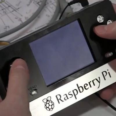 Console portable mod Raspberry Pi