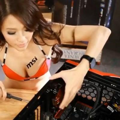 Tutorial sexy MSI sur l'assemblage d'un PC de Gamer