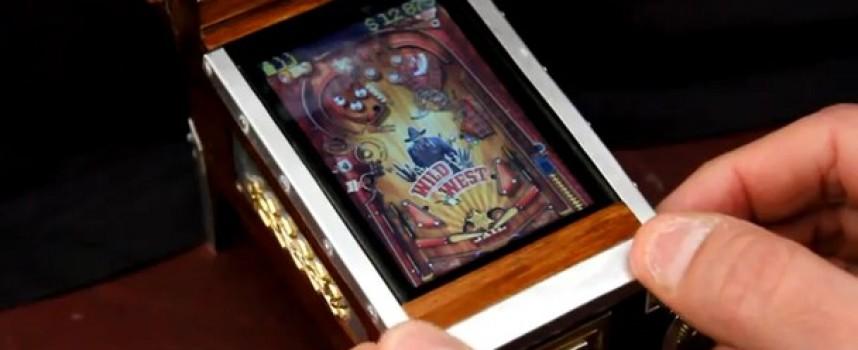 Mod iPod Touch flipper steampunk
