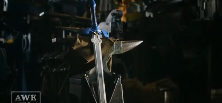 Man At Arms fabrique l'épée Master Sword de Link