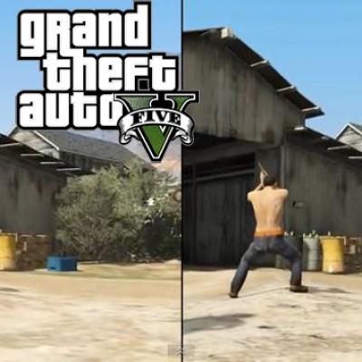 Comparatif Xbox360/PS3 sur GTA V