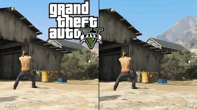 Comparatif Xbox 360 / PS3 sur GTA V