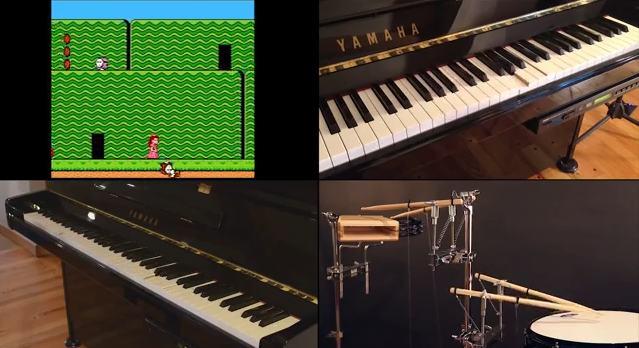 Des Raspberry-Pi jouent les sons d'une console Nintendo NES