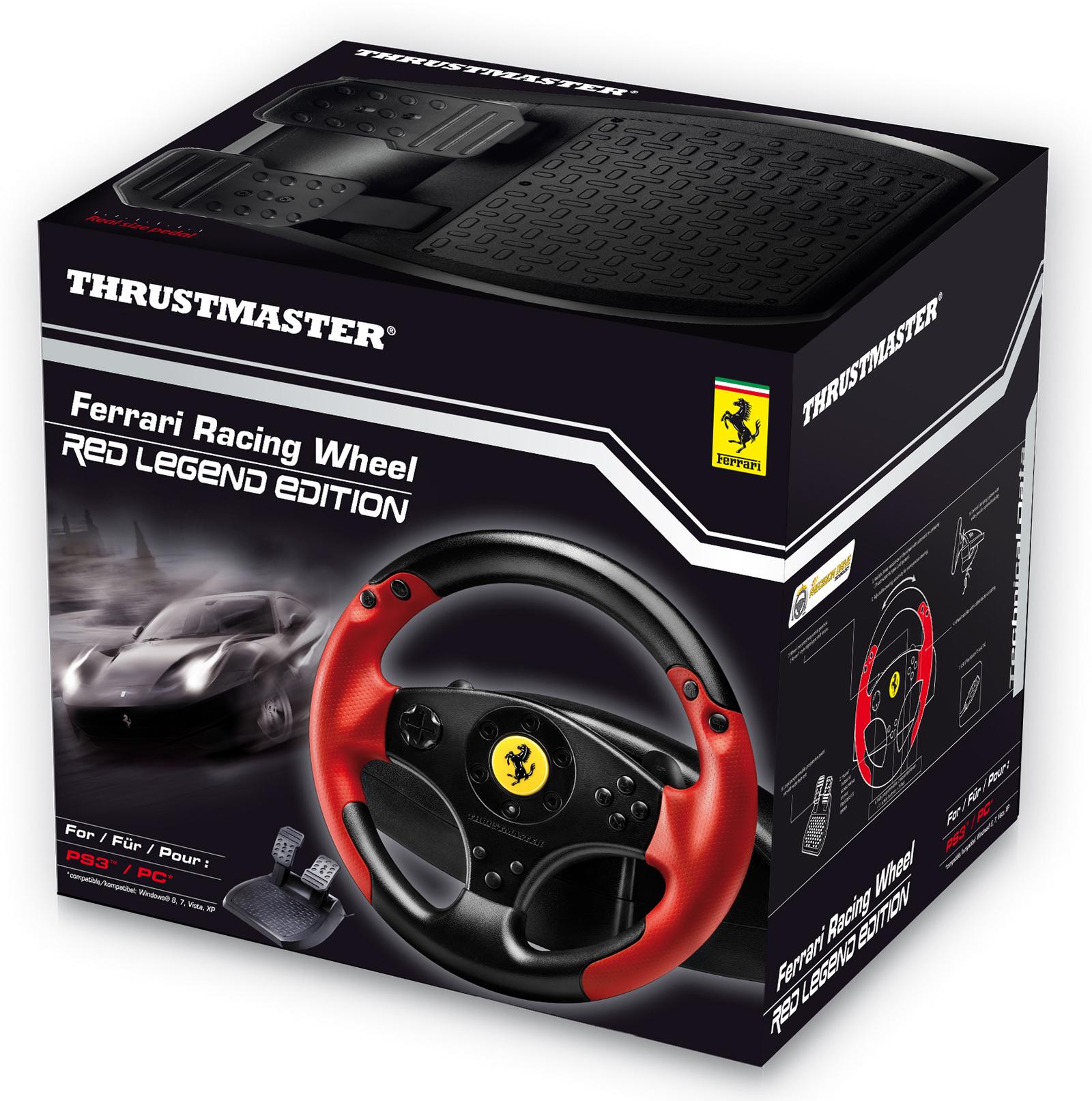 Volant Thrustmaster Ferrari Racing Wheel Red Legend