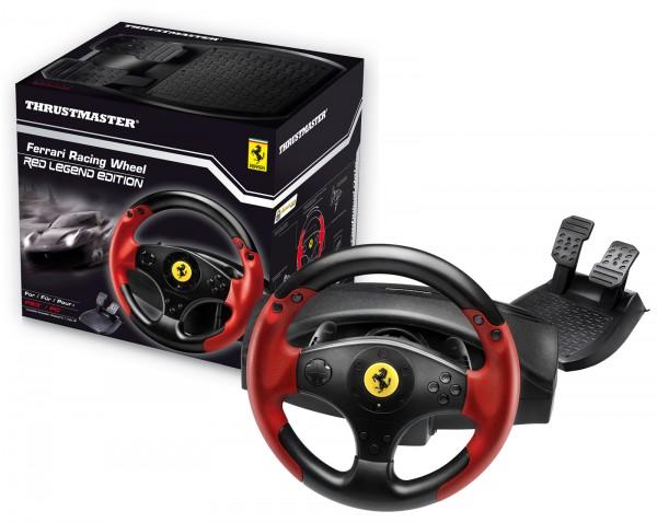 volant thrustmaster ferrari racing wheel red legend edition. Black Bedroom Furniture Sets. Home Design Ideas