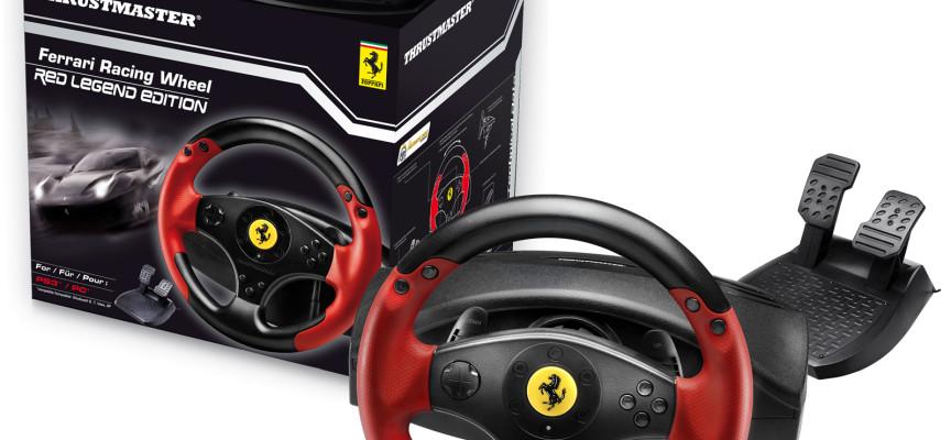 Volant Thrustmaster Ferrari Racing Wheel Red Legend Edition