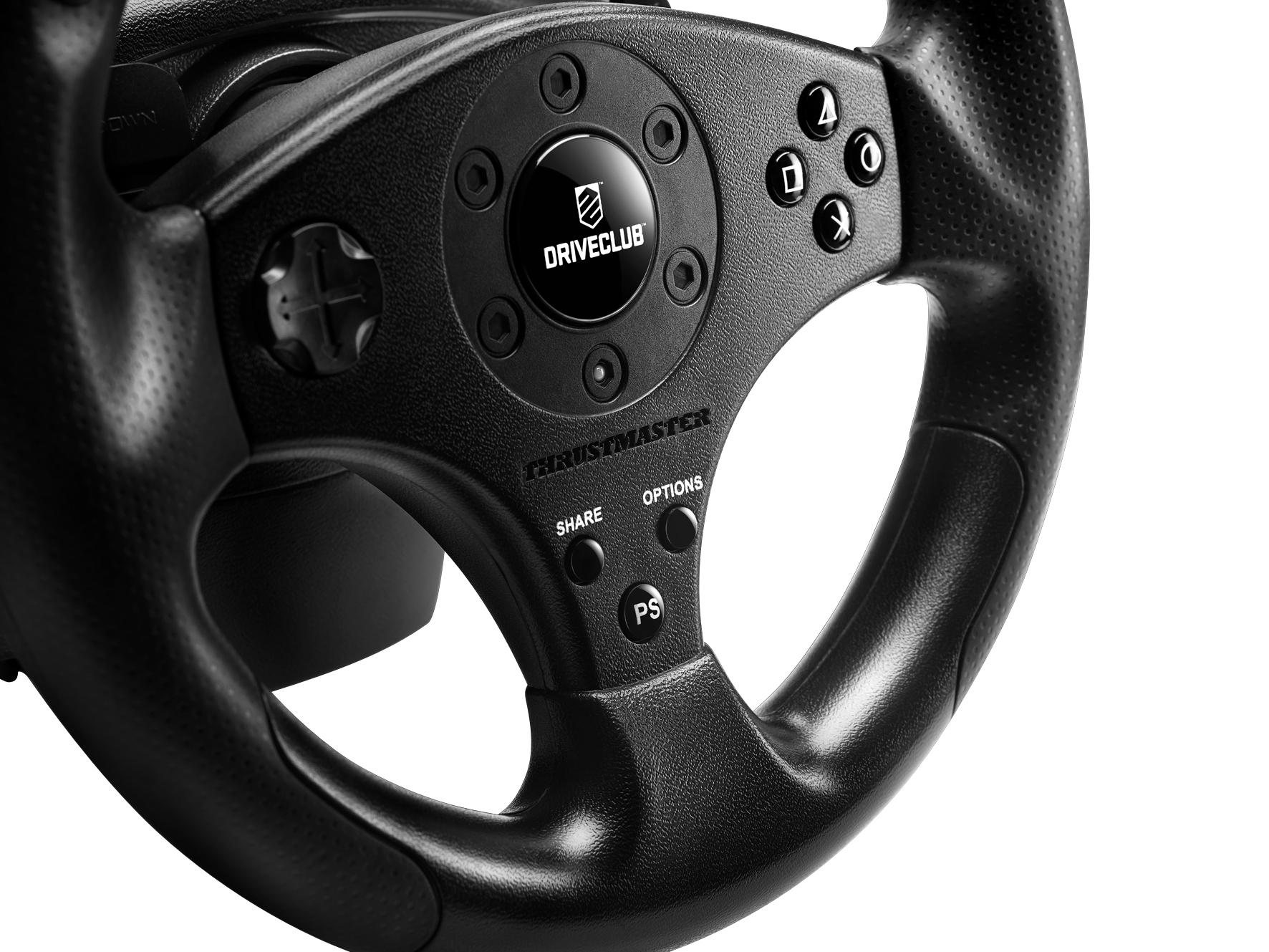 Thrustmaster T80, le premier volant pour PS4