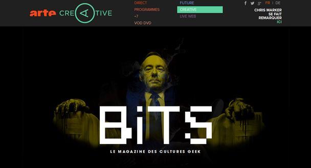 BiTS, la nouvelle émission Geek sur Arte