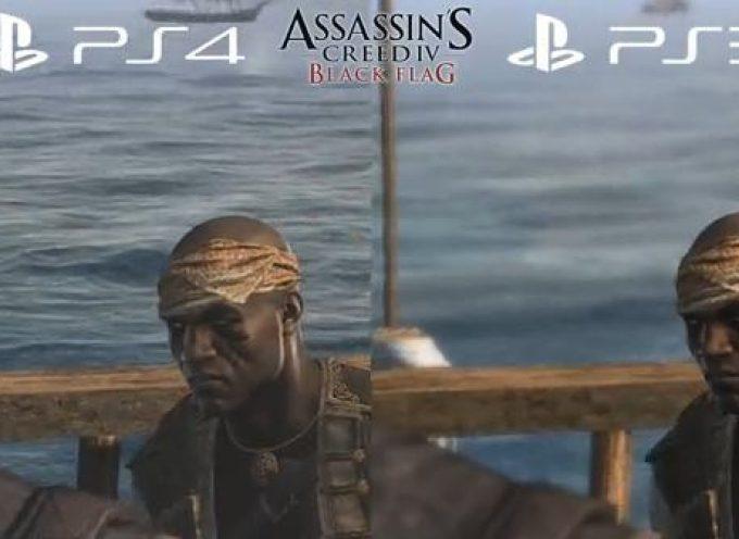 Sony PS4 vs Sony PS3 : qu'en dit Assassin's Creed IV ?
