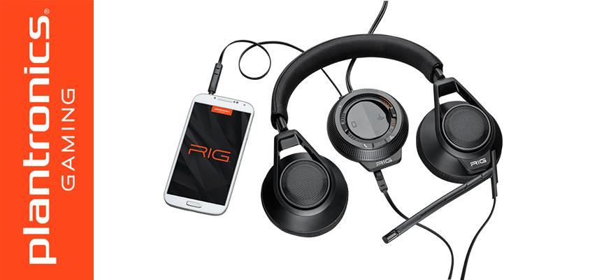 Test Plantronics RIG - Casque Stéréo | PC / Mac / PS3 / PS4 / Xbox 360 / Mobile