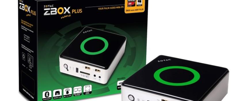 ZBOX nano de Zotac, un mediacenter format mini-PC
