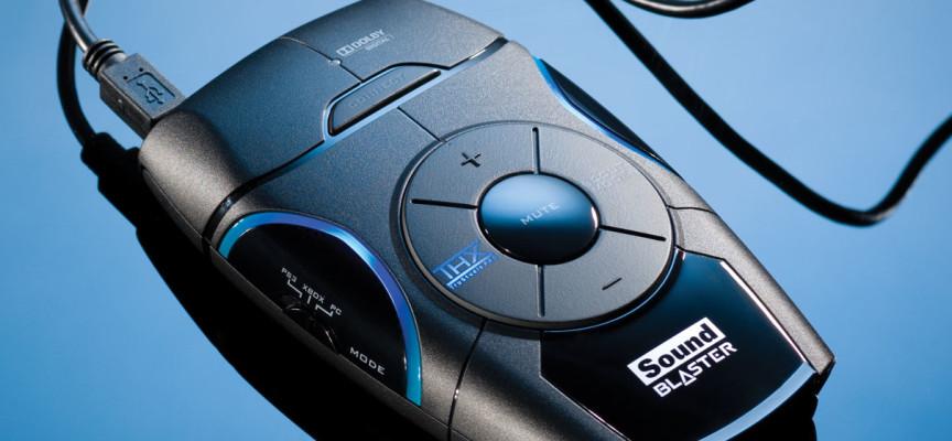 Test Sound Blaster Recon3D – Boitier Audio | PS3 / PS4 / XBox360 / PC